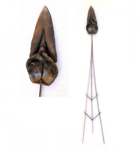 flèche-vulve  cuillère