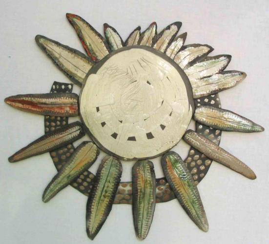 Soleil effeuillé